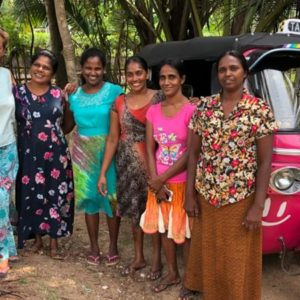 Aljazeera: The pink tuk-tuks of Sri Lanka empowering and protecting women