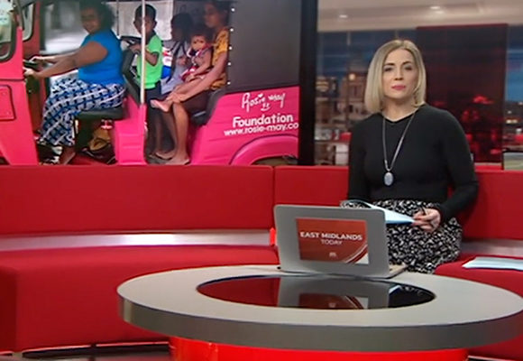 #ThinkPink on the BBC