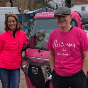 Rosie the Little Pink Tuk Tuk gives back