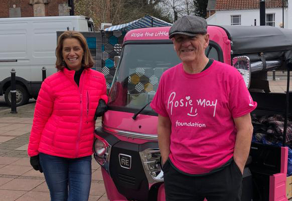 Pink wheels and hot meals: the mobile network helping people through the pandemic