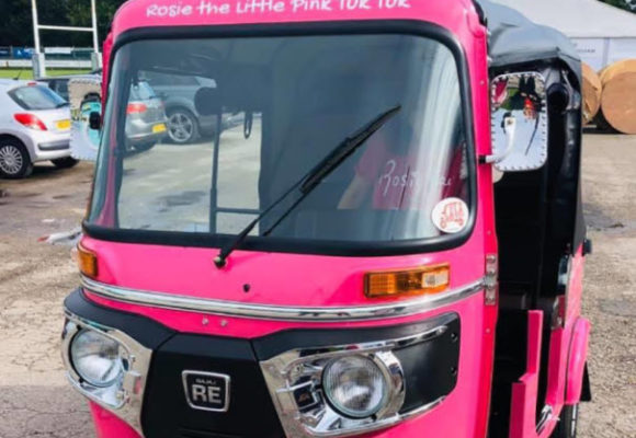 Meet Rosie The Little Pink Tuk Tuk that delivers smiles amid coronavirus pandemic